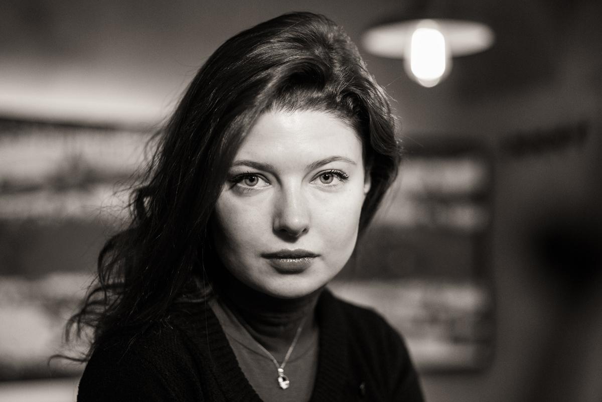 актриса Эмилия Спивак,стиль, мода, прическа, глянец, фотограф спб, фотограф сочи, черно-белый портрет