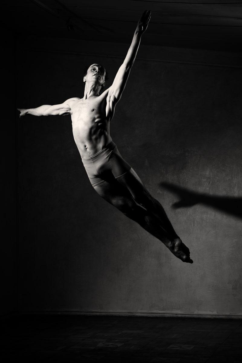 стиль, мода, прическа, глянец, мужской портрет, черно-белый, балет