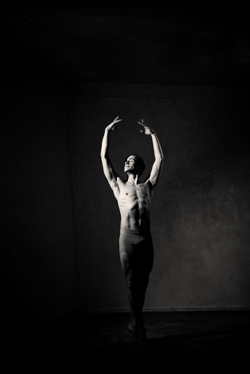 стиль, мода, прическа, глянец, мужской портрет, балет