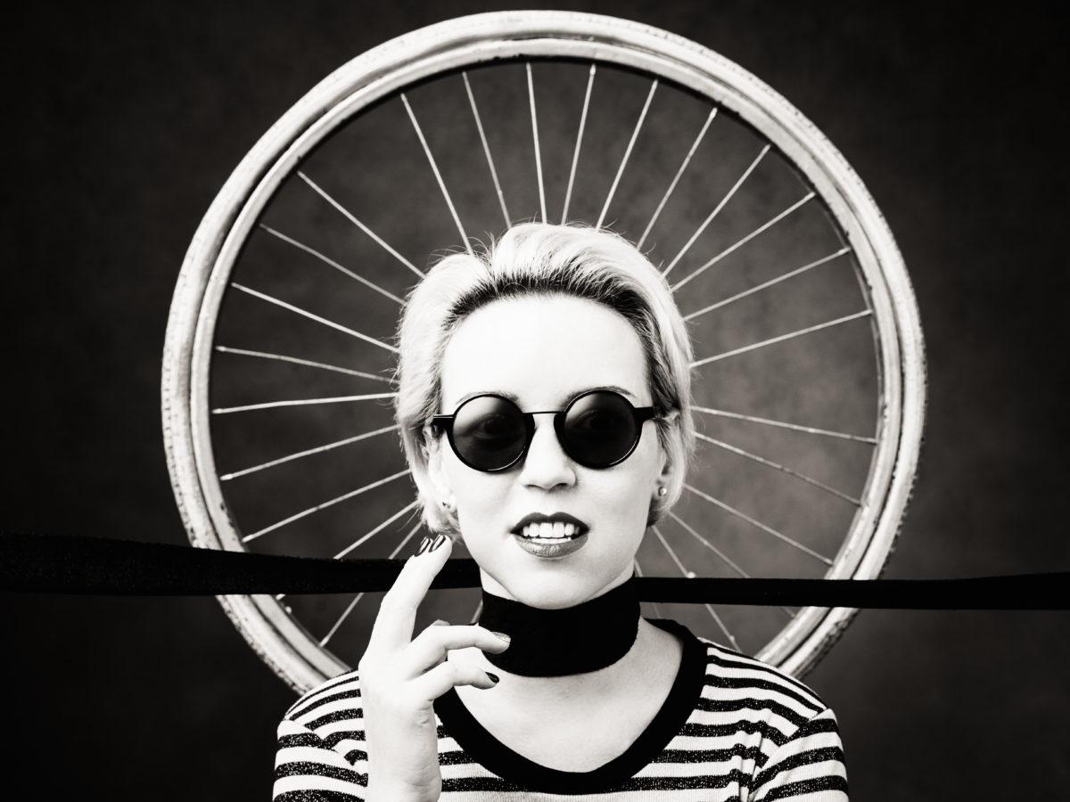 стилист, Алена Носкова, модель, мода, стиль, портрет, черно-белый